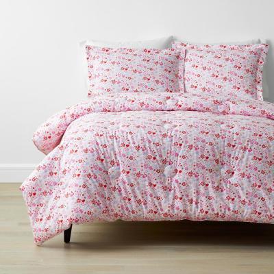 Company Kids™ Flower Shower Multicolored Organic Cotton Percale Comforter Set