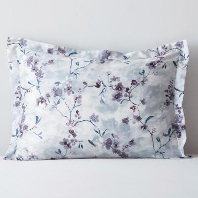 Watercolor Floral 300-Thread Count TENCEL Sateen Sham