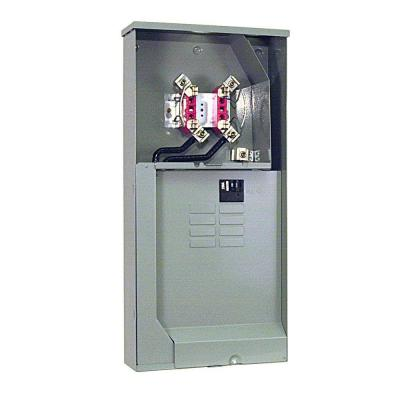 200 Amp 4 Terminal Ringless Main Breaker 8-Space 16-Circuit Overhead Underground