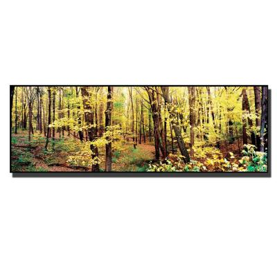 10 in. x 32 in. Trees Canvas Art