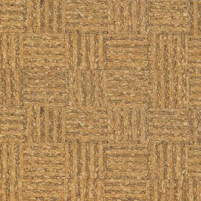 Home Legend Natural Basket Weave 1/2 in. Thick x 11-3/4 in. Wide x 35-1/2 in. Length Cork Flooring (23.17 sq.ft./case) HL9320BW