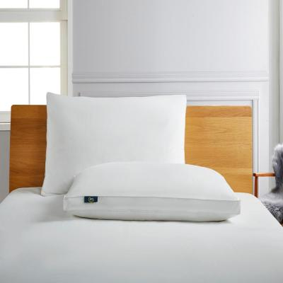 Serta 233 Thread Count Side Sleeper White Goose Feather And White Goose Down Fiber Bed Pillow