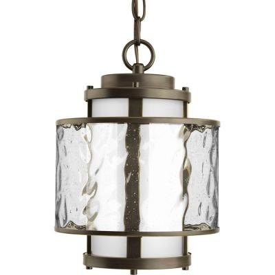 Bay Court Collection Outdoor Hanging Antique Bronze Lantern