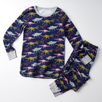 Family Snug-Fit Company Organic Cotton™ Men's Pajama Set in Dino