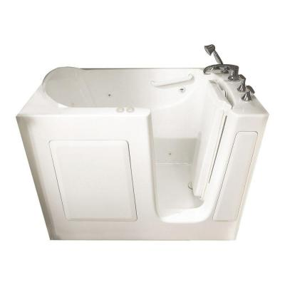 American Standard Gelcoat Standard Series 51 in. x 31 in. Walk-In Whirlpool and Air Bath Tub with Quick Drain in White