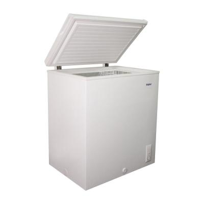 Haier 28.34 in. W 5.0 cu. ft. Chest Freezer in White-DISCONTINUED