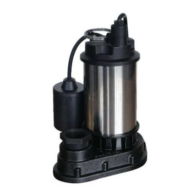 1/2 HP Submersible Sump Pump with Direct-in Tether Float Switch