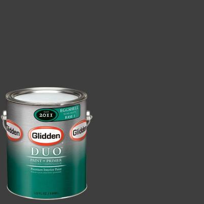 Glidden DUO Martha Stewart Living 1-gal. #MSL280-01F Silhouette Eggshell Interior Paint with Primer-DISCONTINUED