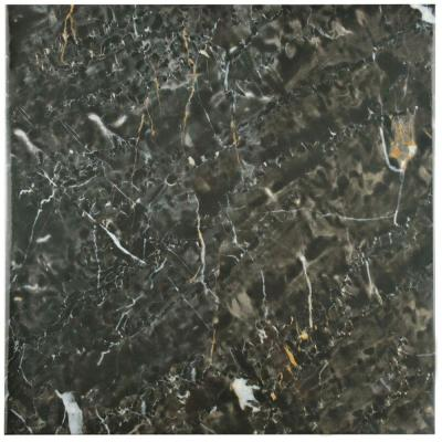 Donna Nero 17-3/4 in. x 17-3/4 in. Ceramic Floor and Wall Tile (15.75 sq. ft. / case) Product Photo