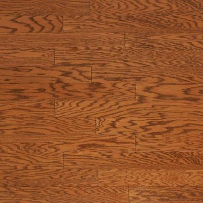 Brushed Oak Antique Brown 3/4 in. Thick x 4 in. Wide x Random Length Solid Hardwood Flooring (21 sq. ft. / case) Product Photo