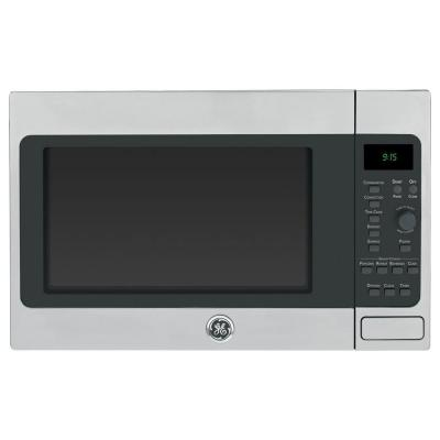 Profile 1.5 cu. ft. Countertop Convection Microwave in Stainless Steel, Built-In