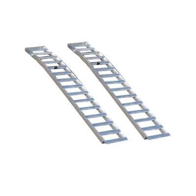 Better Built Aluminum Solid Arched Loading Ramps (2-Pack)