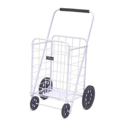 Super Shopping Cart in White
