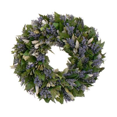 The Christmas Tree Company Enchanted Garden 18 in. Dried Floral Wreath-DISCONTINUED