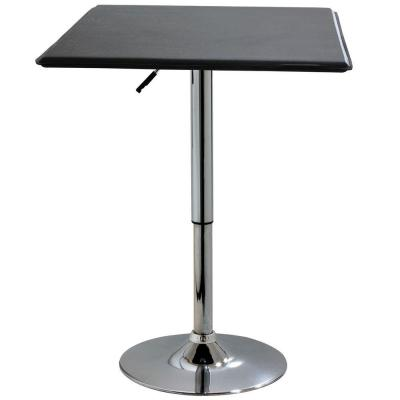 Adjustable Square Top Bar Table Product Photo