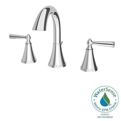 Pfister Saxton 8 in. Widespread 2-Handle High-Arc Bathroom Faucet in Polished Chrome