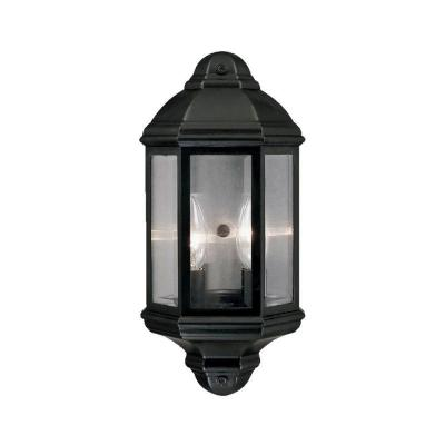 Acclaim Lighting Pocket Lantern Collection Wall-Mount 2-Light Outdoor Matte Black Fixture