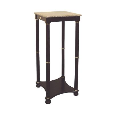 Composite Wood End Table in Cherry Product Photo