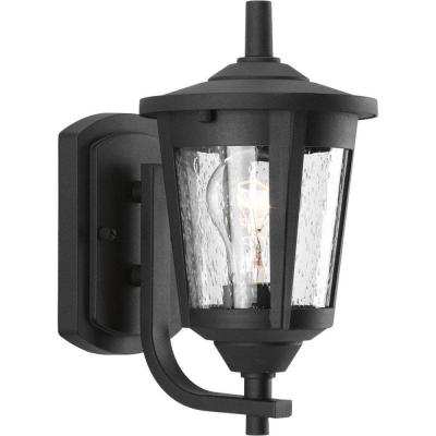 East Haven Collection 1-Light Black Wall Lantern