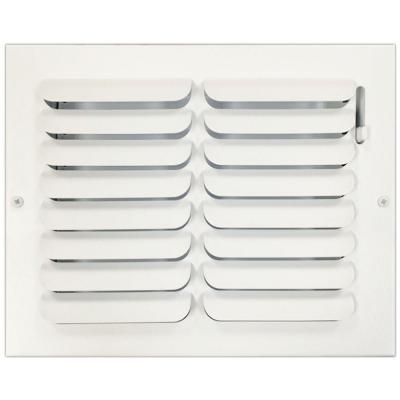 8 in. x 10 in. Ceiling or Wall Register with Curved