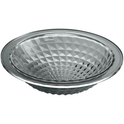 Kallos Vessel Sink in Translucent Stone Glass Product Photo
