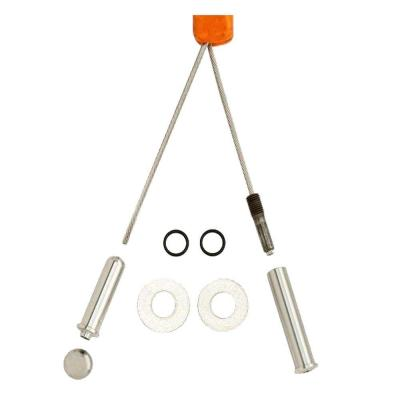 null Cable Railing Kit Out to Out Stainless Steel (Common: 1/8 in. x 10 ft.; Actual: 0.125 in. x 120 in.)