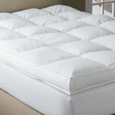 Black Label PrimaLoft 18 in. Down Alternative Featherbed Mattress Pad