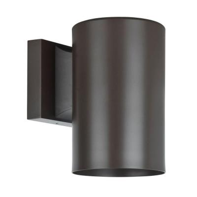 Architectural Exterior 1-Light Oil Bronze Wall Sconce