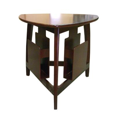 Home Decorators Collection Composite Wood Magazine Table in Cherry