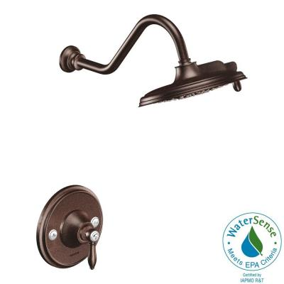 Weymouth 1-Handle Posi-Temp Eco-Performance Shower Trim Kit in Oil Rubbed Bronze