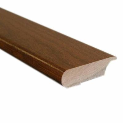 Oak Gunstock 0.81 in. Thick x 3 in. Wide x 78 in. Length Hardwood Lipover Stair Nose Molding Product Photo