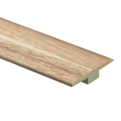 Natural Hickory 7/16 in. Thick x 1-3/4 in. Wide x 72 in. Length Laminate T-Molding Product Photo