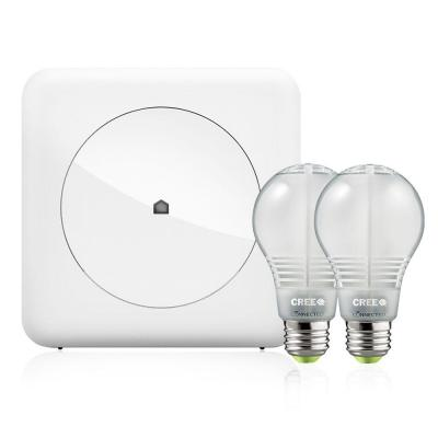 Wink Smart Lighting Kit with 2 Cree Bulbs