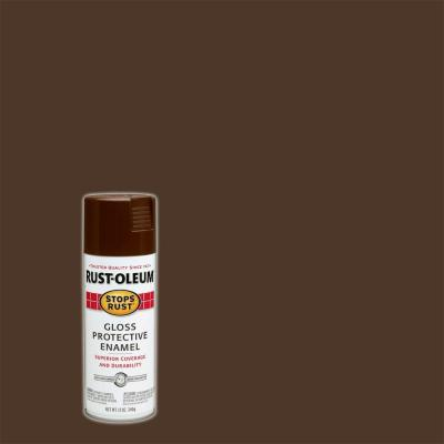 Gloss Leather Gloss Leather Brown Spray