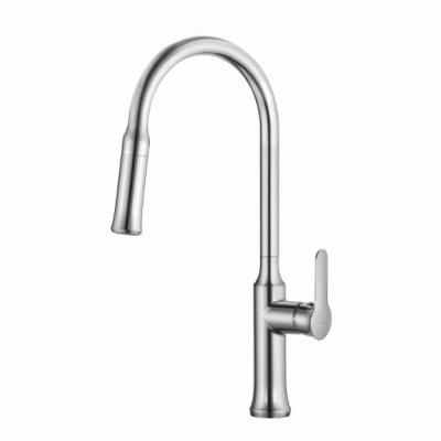 KRAUS Nola Single-Handle Pull-Down Kitchen Faucet with Dual-Function Sprayer in Chrome