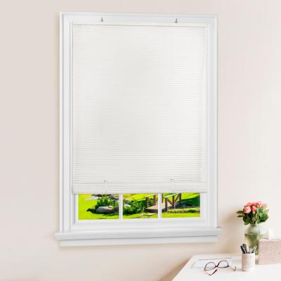 Solstice Cordless 1/4 in. Vinyl Roll-Up Blind