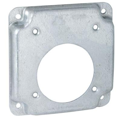 4 in. Square Exposed Work Cover for Single 30-50A Round Devices