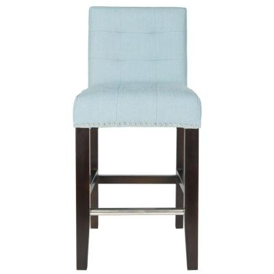 Thompson 36.4 in. Counter Stool in Sky Blue
