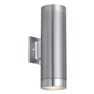 Eglo Ascoli 2-Light Outdoor Stainless Steel Wall Lamp