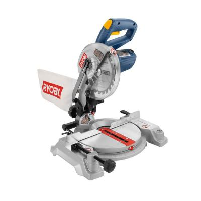 Ryobi 9-Amp 7-1/4 in. Corded Miter Saw with Laser