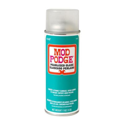 Mod podge 11 oz pearlized spray sealer 1449 the home depot for Waterproof acrylic sealer for crafts