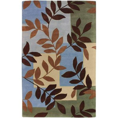 Artistic Weavers Clawson Sky 5 ft. x 8 ft. Area Rug