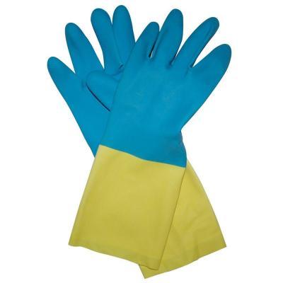 Neoprene Coated Latex Gloves - XL