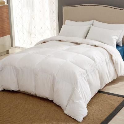All Season Year Round Warmth White Goose Down Comforter