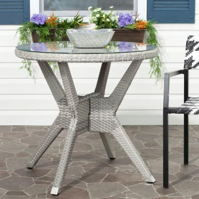 Safavieh Langer Grey Weatherable End Table