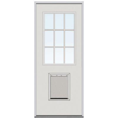 Milliken millwork 36 in x 80 in classic clear glass gbg for 36 inch exterior door home depot