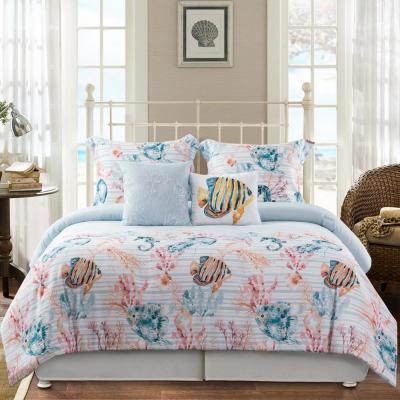Catalina 5-Piece Blue Comforter Set