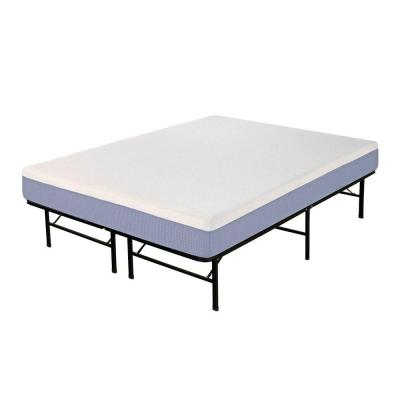 Pure Foam King-Size Memory Foam Mattress with Platform Frame Product Photo