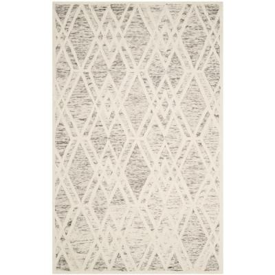 Cambridge Light Brown/Ivory 5 ft. x 8 ft. Area Rug