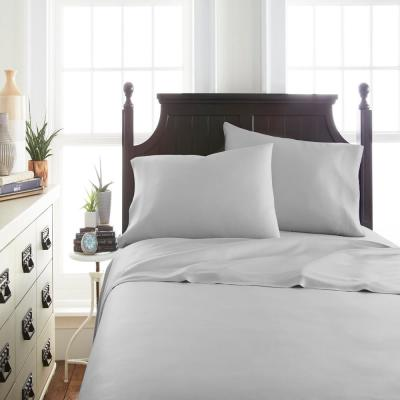 Home Collection Solid 300-Thread Count Rayon from Bamboo Sheet Set